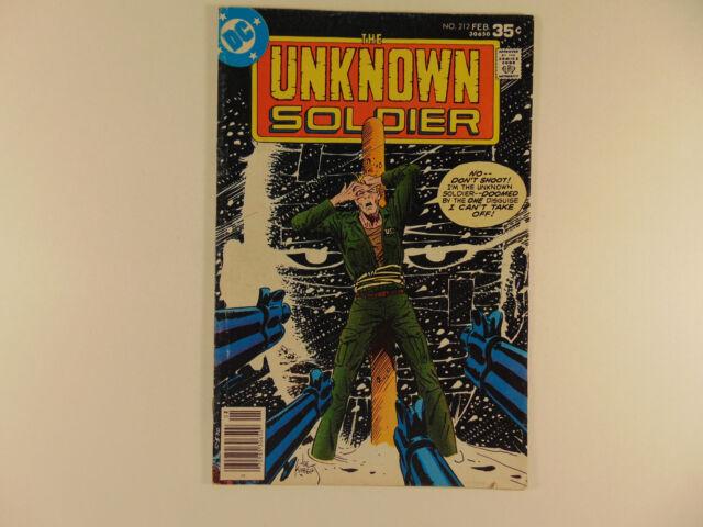 Unknown Soldier #212 (Feb 1978, DC) mid grade