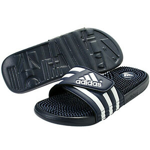 123b339e584dd Image is loading New-Adidas-Adissage-078261-Navy-White-Slippers-Slide-