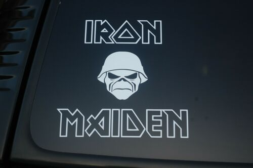 V252 Iron Maiden Vinyl Sticker Decal Rock Metal Metallica Slayer Choose Size!!