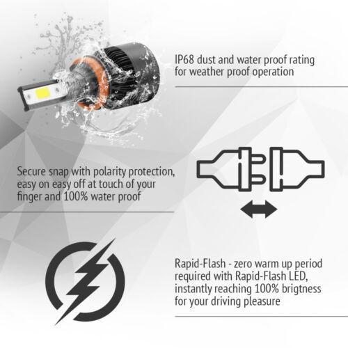 XENTEC LED HID Headlight kit H11 White for 2007-2016 Chevrolet Silverado 3500