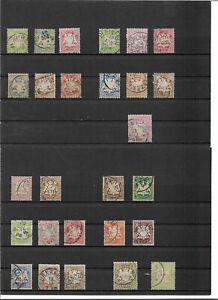 Bayern-1876-1911-komplette-Saetze-aus-Michelnummern-37-93-o-zur-Auswahl