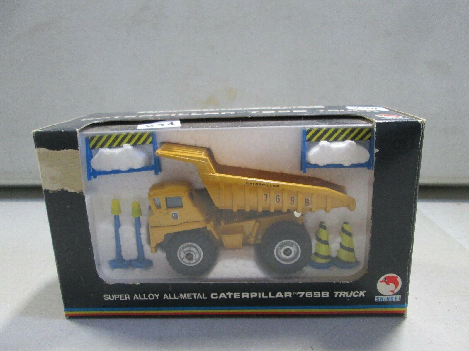 SHINSEI CATERPILLAR 769B camion benne