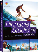 Pinnacle Studio 19 Ultimate By Corel - Retail Box Pnst19ulenam