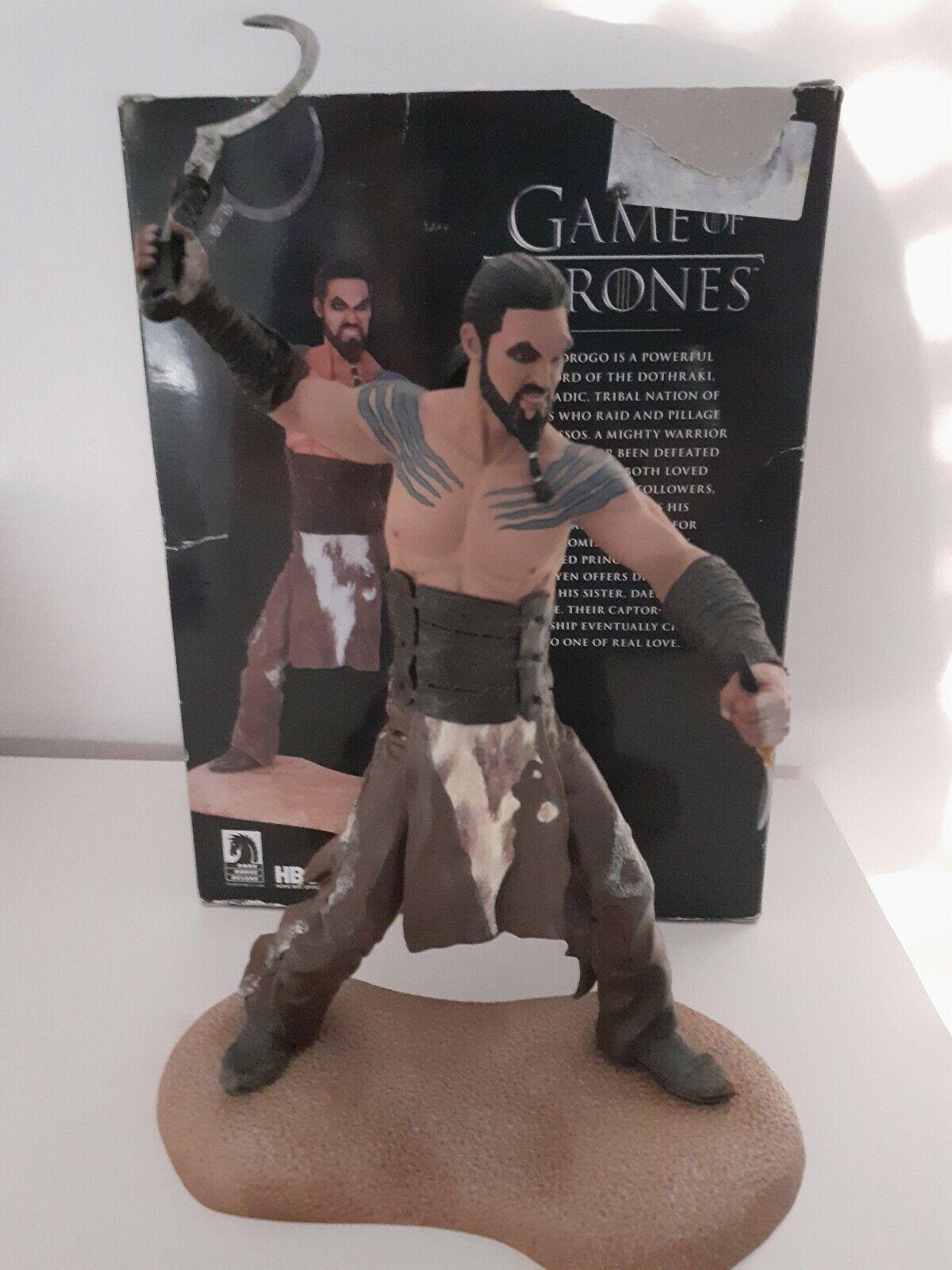 Figurine Game Of Thrones Khal Drogo Figure Dark Horse