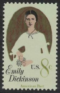 Scott-1436-Emily-Dickinson-American-Poet-MNH-8c-1971-unused-mint-stamp