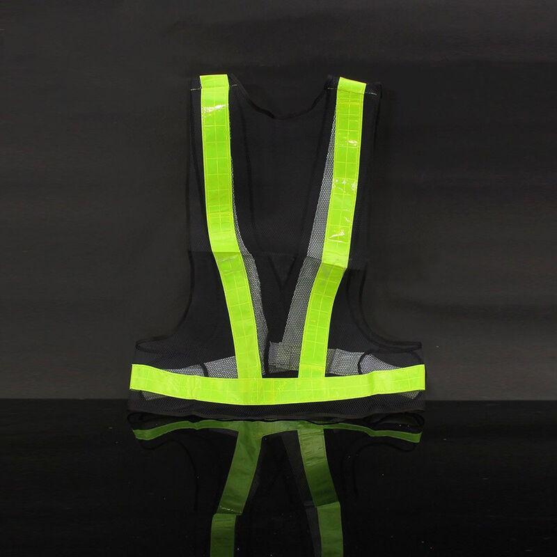 Safety High-Vis Bright Reflective Vest Warning Clothing No4MRI