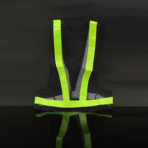 Safety High-Vis Bright Reflective Vest Warning Clothing