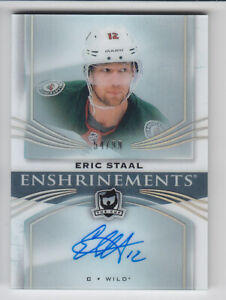 2018-19-UD-CUP-ERIC-STAAL-HARD-AUTO-99-ENSHRINEMENTS-SIGNATURES-AUTOGRAPH-Wild