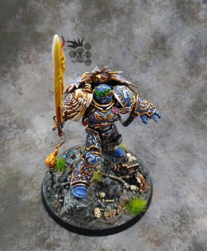 Warhammer 40k Ultramarines Roboute Guilliman Primarch M1 painted