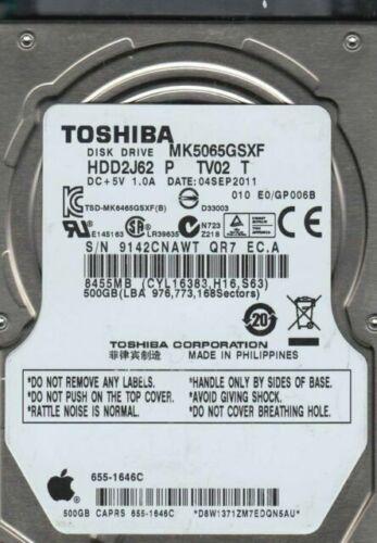 500GB 2.5 Laptop Hard Drive for Toshiba Satellite P755D-S5266 P755D-S5378 P755D-S5379 P755D-S5384 P755D-S5386