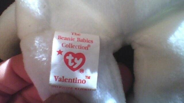 Valentino Beanie Baby Retired with Errors and and and STAR  291e78