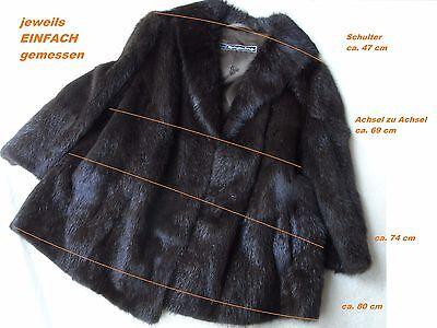 DDR Pelzmantel echt Mantel Fell Jacke Kürschner Pelz handmade Damen XXL Plus | eBay