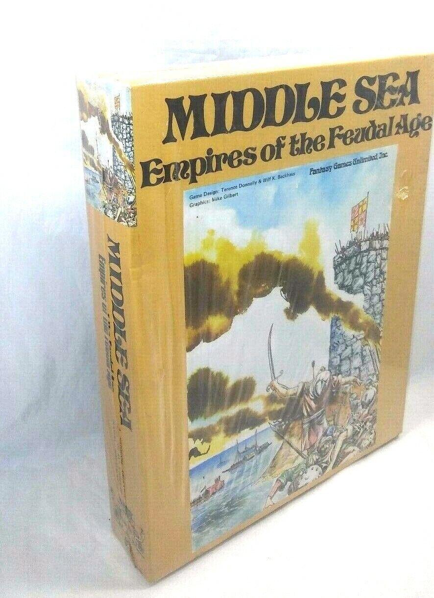 ahorrar en el despacho Vintage Raro Medio Mar Imperio de edad feudal  nuevo nuevo nuevo   Sellado de 1979 juego de mesa guerra FGU  tienda en linea