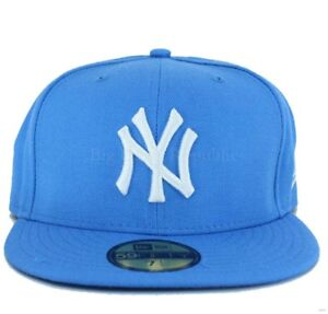 4bda692d86427 New Era MLB 59Fifty NY new York Yankees Fitted Baseball Cap Truckers ...