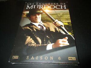 """COFFRET 3 DVD NEUF """"LES ENQUETES DE MURDOCH - SAISON 6, VOLUME 1"""""""