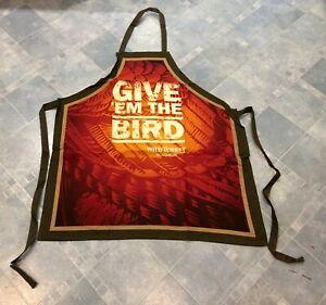 Give-Em-The-Bird-Wild-Turkey-Bourbon-Sturdy-Cotton-BBQ-Apron