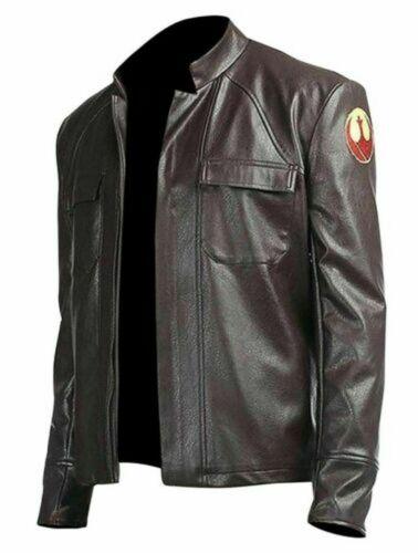 NEW Poe Dameron Star Wars The Last Jedi Pure Genuine Leather Jacket Cosplay