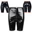 Frauen-Leder-Optik-Shorts-Damenhose-Kurz-Hosen-Pants-mit-Reissverschluss-Schwarz Indexbild 4