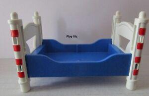 R217 Lit Orange & Bleu Chambre Parents 4284 PLAYMOBIL MAISON ...