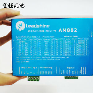 Leadshine-AM882-Digital-Stepper-Motor-Driver-80VDC-0-1A-8-2A-Protection