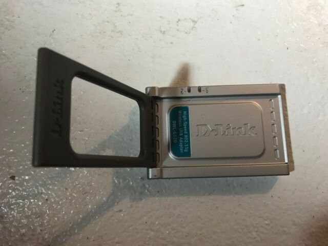 D-Link DWL-G120 USB Adapter Last
