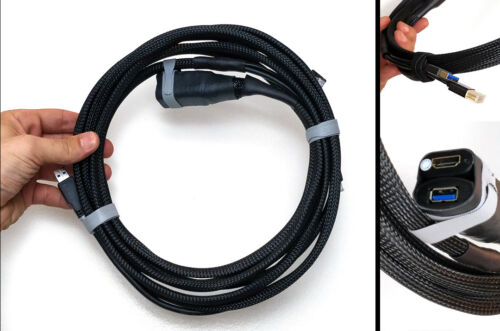 USB Oculus Rift VR Breakout Cable Virtual Reality 10ft Extension HDMI Vive