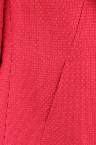à évasées rouge Blazer Evan armure gaufrée Picone à 4 3 manches 8wgrqXIg
