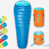 Highrock Duck Down Sleeping Bag Ultralight Backpacking Camping Travel 5c8c