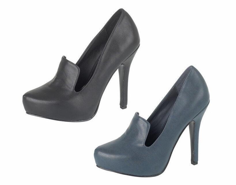 Moda jest prosta i niedroga da donna Anne Michelle tacco alto plateau nascosto SLIP ON MODA Décolleté L2253
