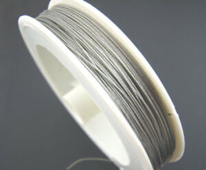 BOBINA-50-METROS-50M-HILO-CABLE-crinelle-PLATA-0-45MM-fabricacion-de-joyeria