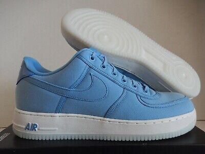 NIKE AIR FORCE 1 LOW RETRO QS CANVAS DECEMBER SKY BLUE SZ 14 [AH1067 401] | eBay