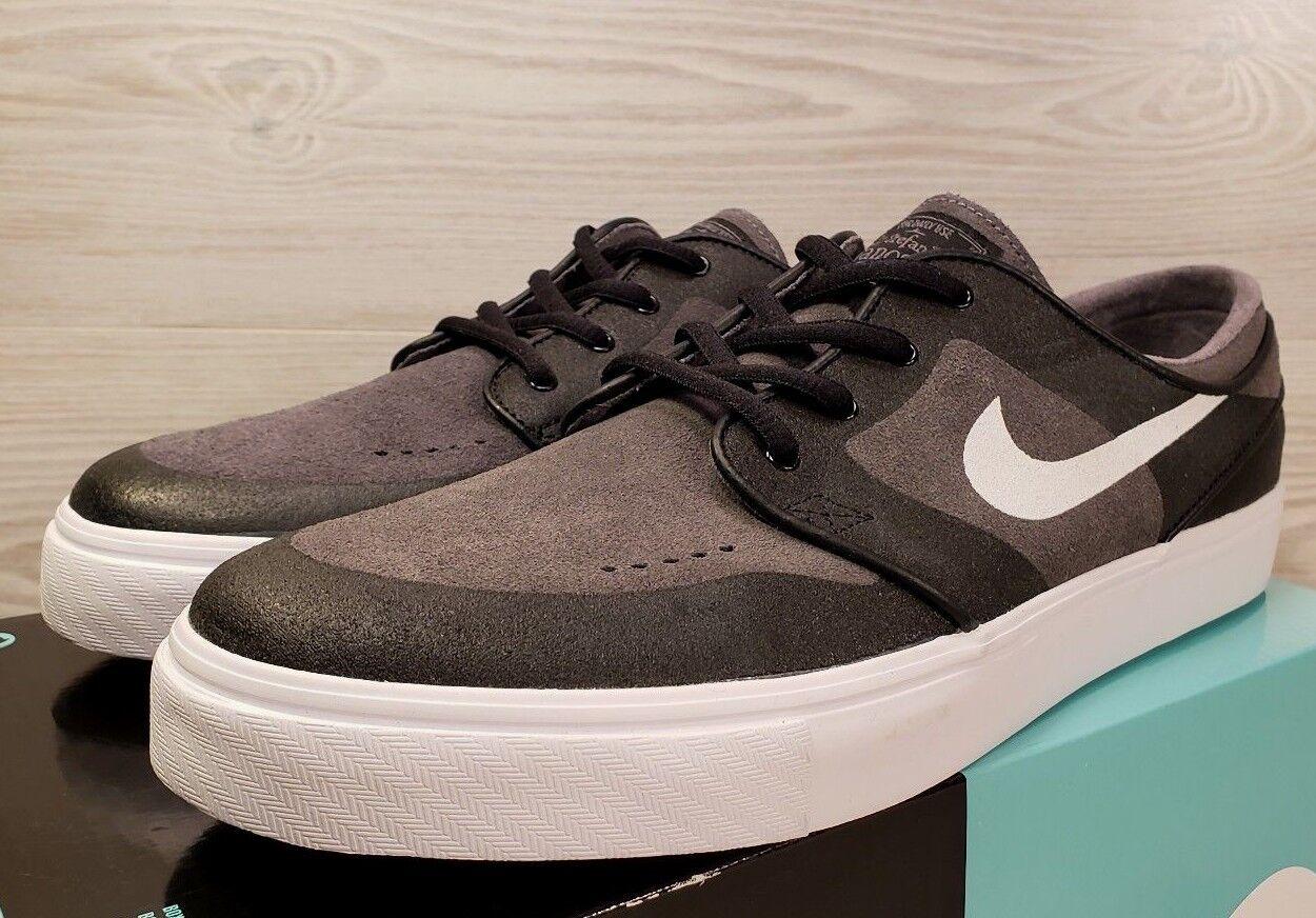 *RARE* Nike SB 010 Stefan Janoski Elite Black/Grey Skateboarding 877062 010 SB Size 11 1aadd4