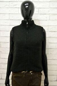 Maglione-Donna-REPLAY-Taglia-M-Felpa-Pullover-Sweater-Woman-Nero-Lana-Smanicato