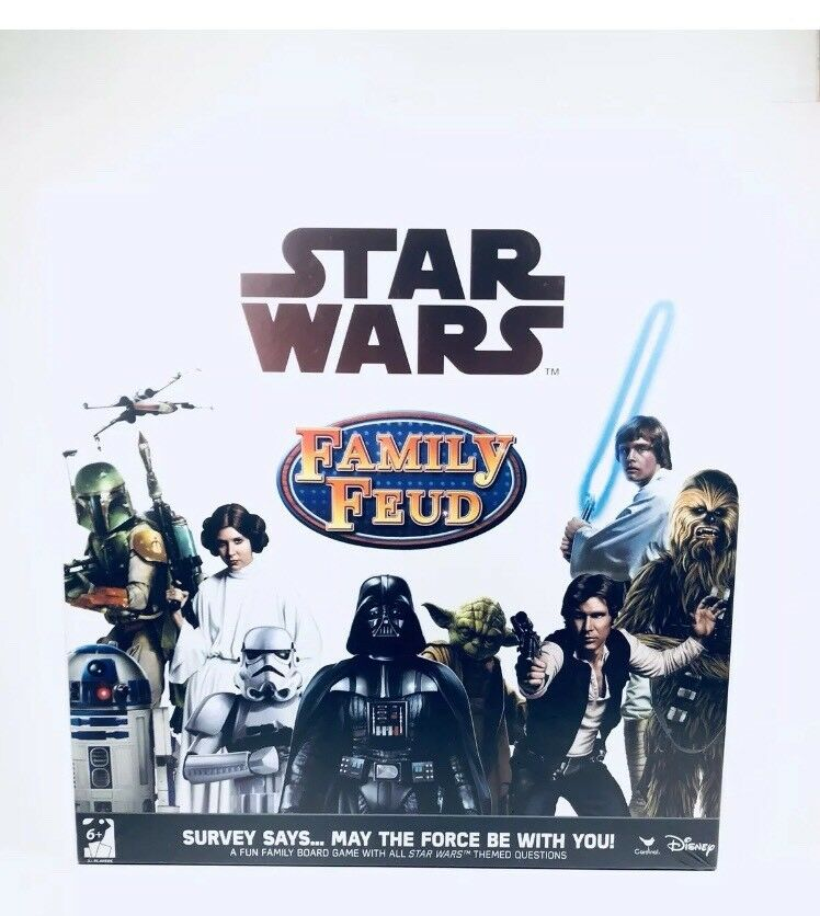 Family Family Family Feud Star Wars Trivia Game NEW 491748