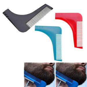 Facials-Hair-Beard-Shaper-Guides-Template-Combs-Styling-Accessories-Trim-Shap-JF