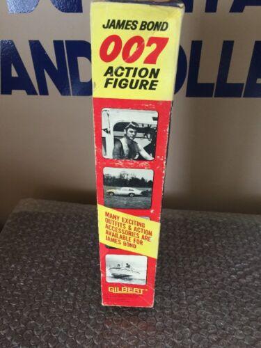 Agent secret de James Bond Vintage 007 (gilbert, 1965) avec boîte