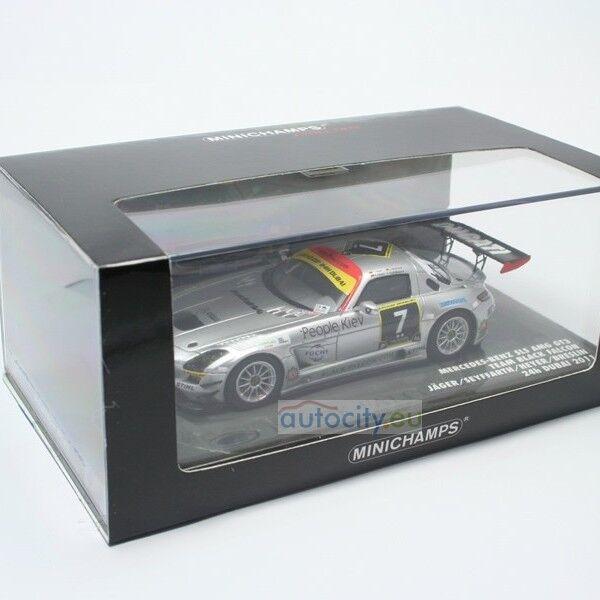 MINICHAMPS MERCEDES-BENZ SLS AMG GT3 JAGER SEYFFARTH HEYER BRESLIN 24H 437110307