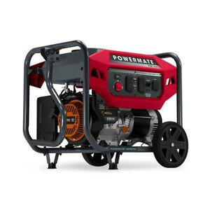 Powermate 8140 - PM7500 7,500 Watt Portable Generator, CO Sense 50ST