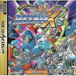 Mega Man X3 (Sega Saturn) for sale online   eBay