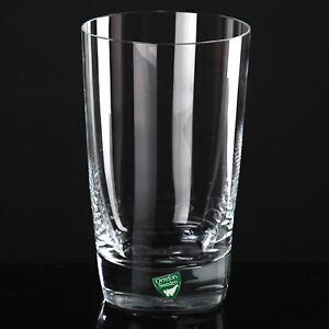 Orrefors-Saftglas-Wasserglas-Becher-Glas-Tumbler-13-cm-hoch-quadratischer-Stand