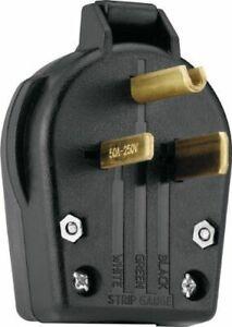 Nema 6 30p 6 50p Welder Plug 50 Amp Male 220v 208 220 250 Volt Welder Dryer New 714735958689 Ebay