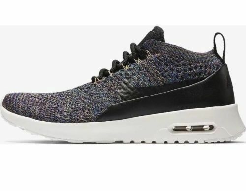 Nike Wms Sz 7 Air Max Thea Ultra FK Flyknit Running shoes 881175 006 NEW Multi