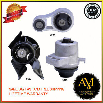 2396 2467 2566 Engine /& Trans Mount For Oldsmobile Cutlass Ciera 3.3L 2548