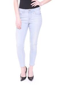 Womens Cropped Skinny Jeans Ex Designer Casual Summer Ankle Grazer Denim