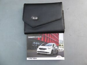 kia venga 2015 2018 facelift handbook owners manual wallet print rh ebay co uk Kia Venga Kia Venga