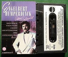 Engelbert Humperdinck Getting Sentimental As Time Goes By + Cassette Tape TESTED