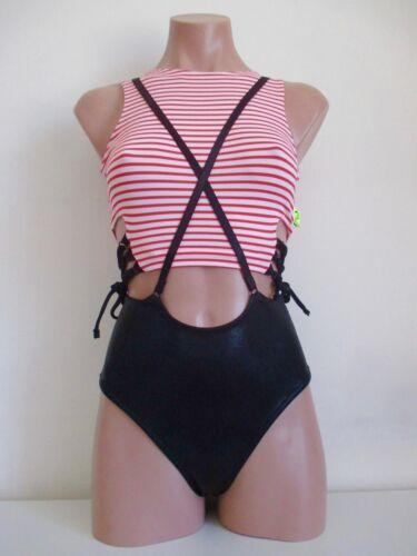 Schminke  ⚓︎ pleasure suit Pole dance poledance sailor stripe set red /& white ⚓