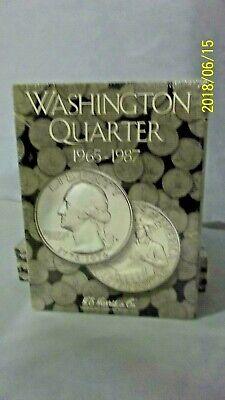Harris Album 2690 Washington Quarters 1965 to 1987 Set Coin Folder