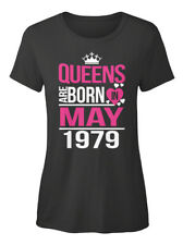 Standard Women/'s T-Shirt Queens Are Born In May 1979