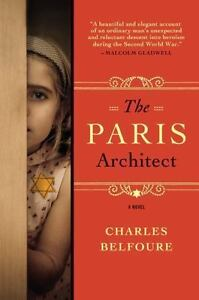 The-Paris-Architect-by-Charles-Belfoure-2014-Paperback-book